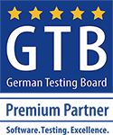 GTB German Testing Board Premium Partner. Software. Testing. Excellence.