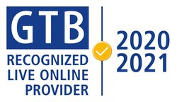 GTB Recognized Live Online Provider 2020 2021